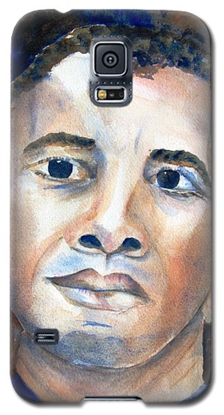 Hopeful - President-elect Galaxy S5 Case by Carlin Blahnik