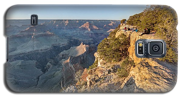 Galaxy S5 Case featuring the photograph Hopi Point Grand Canyon by Martin Konopacki