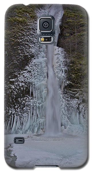 Galaxy S5 Case featuring the photograph Horestail Falls Fva by Todd Kreuter