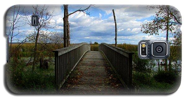 Horicon Bridge In Autumn Galaxy S5 Case