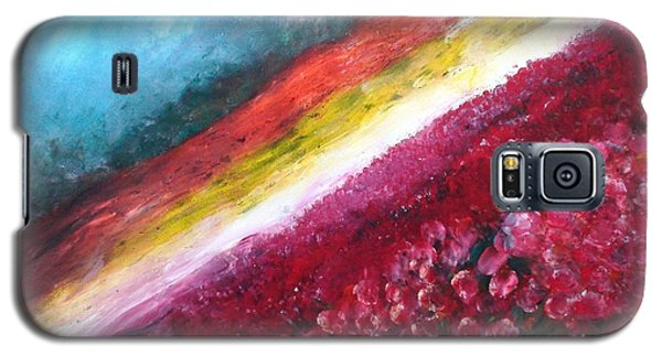 Horizon Flowers Galaxy S5 Case