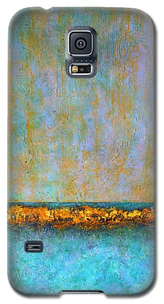 Galaxy S5 Case featuring the painting Horizontal Reef by Jim Whalen