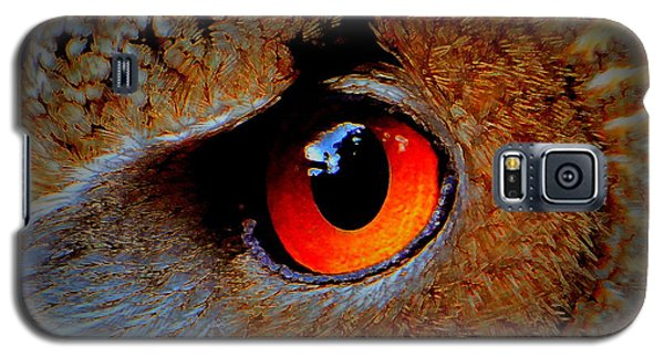Horned Owl Eye Galaxy S5 Case