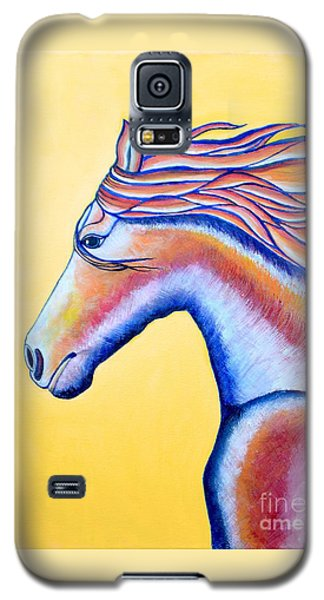 Galaxy S5 Case featuring the painting Horse 1 by Joseph J Stevens