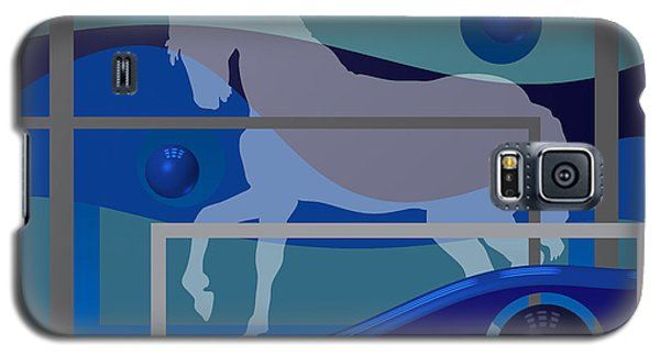 Horse And Blue Balls Galaxy S5 Case
