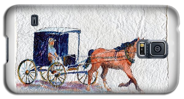 Horse And Buggy Galaxy S5 Case by Mary Haley-Rocks