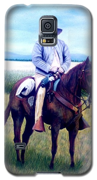Horse And Rider Galaxy S5 Case by Stacy C Bottoms