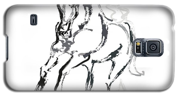 Horse- Andalusian Angel Galaxy S5 Case