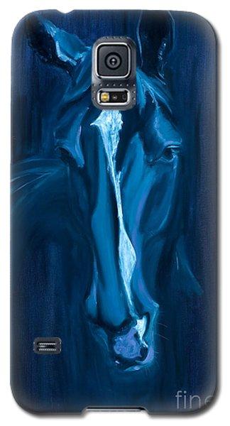 horse - Apple indigo Galaxy S5 Case