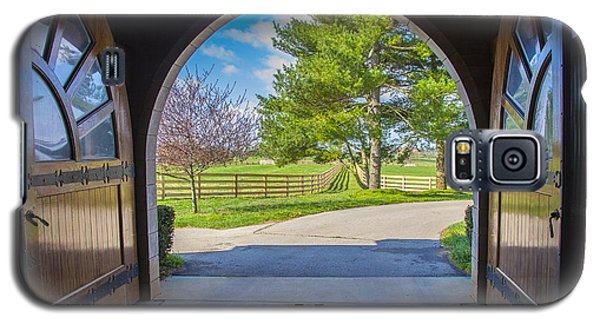 Horse Barn Galaxy S5 Case