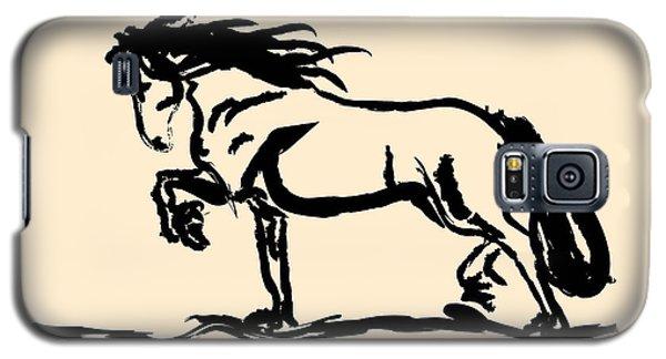 Horse - Blacky Galaxy S5 Case