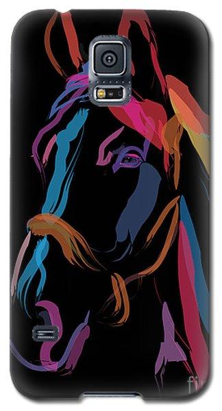 Horse-colour Me Beautiful Galaxy S5 Case