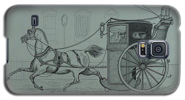 Horse Drawn Cab 1846 Galaxy S5 Case