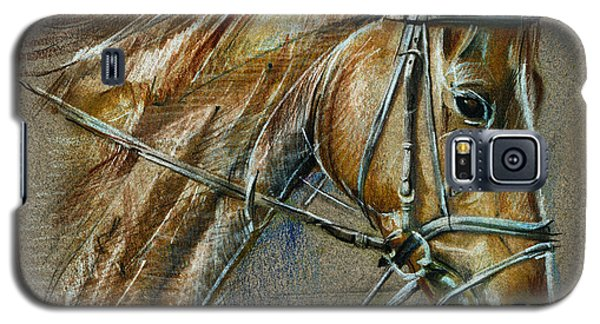 My Horse Face Drawing Galaxy S5 Case