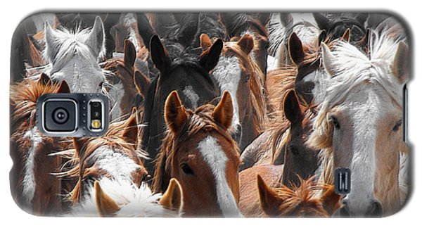 Horse Faces Galaxy S5 Case