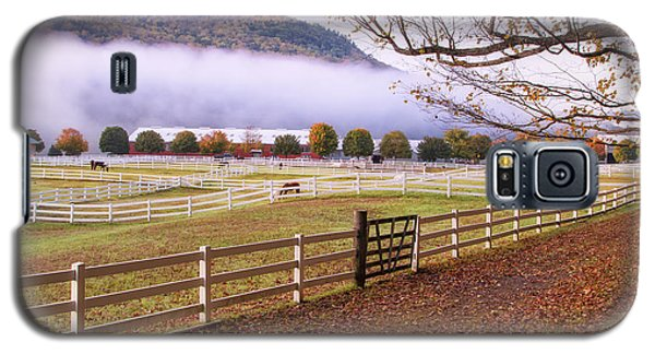 Horse Farm Autumn Galaxy S5 Case