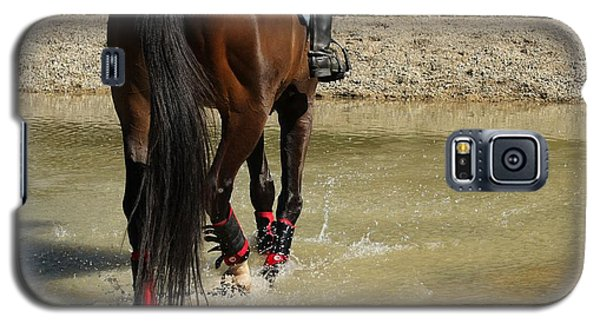 Horse In Water Galaxy S5 Case