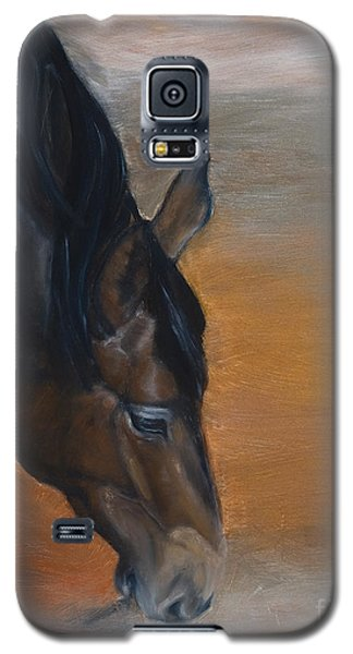 Galaxy S5 Case featuring the painting horse - Lily by Go Van Kampen