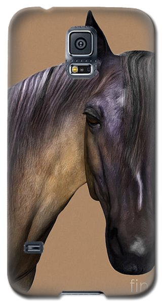 Horse Portrait Galaxy S5 Case