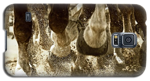 Galaxy S5 Case featuring the photograph Horse Power And Teamwork by Lincoln Rogers