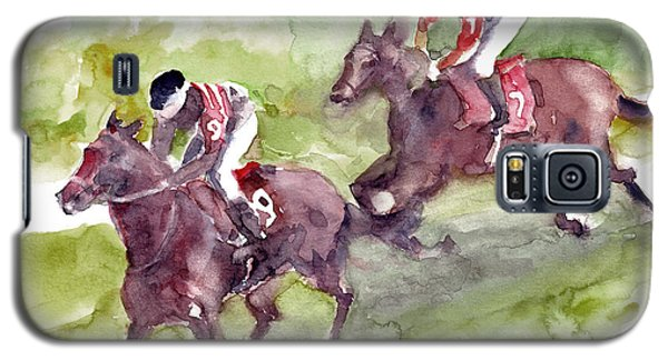 Horse Racing Galaxy S5 Case by Faruk Koksal