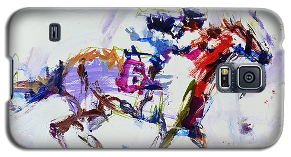 Horse Racing Print Galaxy S5 Case