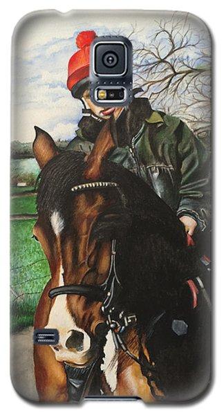 Horse Rider Galaxy S5 Case