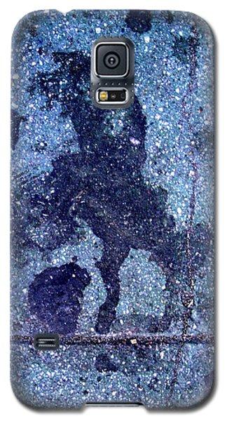 Horse Smashing Evil On Skid Row Galaxy S5 Case