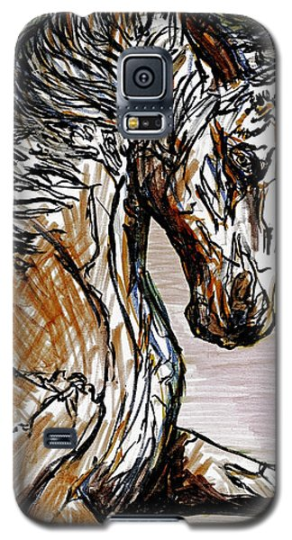 Horse Twins I Galaxy S5 Case