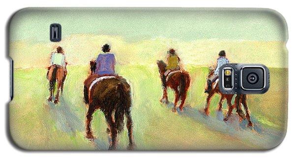 Horseback Riders Galaxy S5 Case