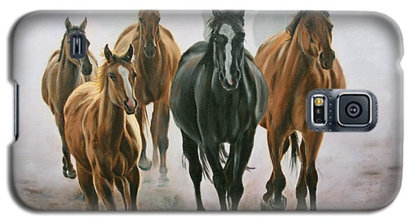 Horses And Dust Galaxy S5 Case