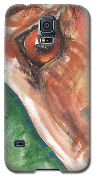 Horses Eye Galaxy S5 Case by Mary Armstrong