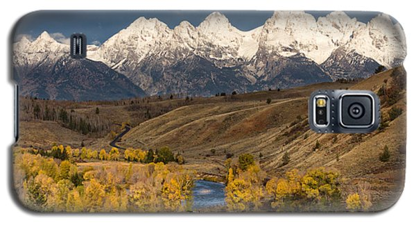 Horses On The Gros Ventre River Galaxy S5 Case