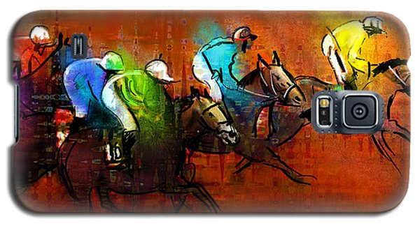 Horses Racing 01 Galaxy S5 Case