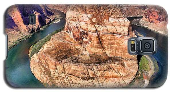 Horseshoe Bend In Arizona Galaxy S5 Case by Mitchell R Grosky