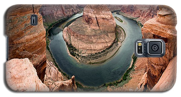 Horseshoe Bend Panorama Galaxy S5 Case by Jim Snyder