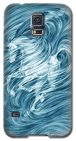 Horsessence - Colorized Fantasy Dream Horse Print Galaxy S5 Case