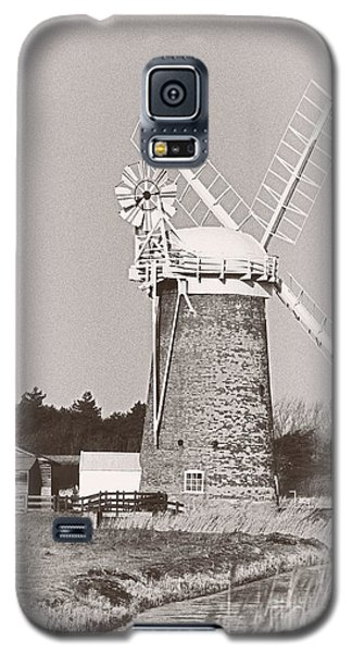 Horsey Wind Pump Vertical Galaxy S5 Case