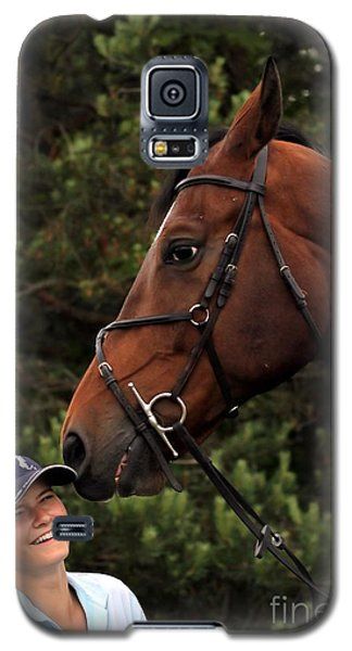Horsie Nudge Galaxy S5 Case