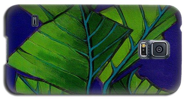 Hosta Blue Tip Two Galaxy S5 Case