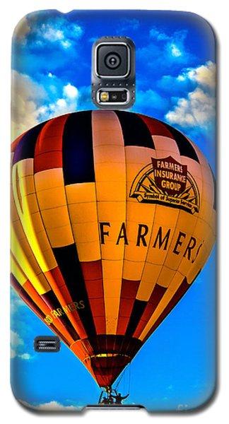 Hot Air Ballon Farmer's Insurance Galaxy S5 Case
