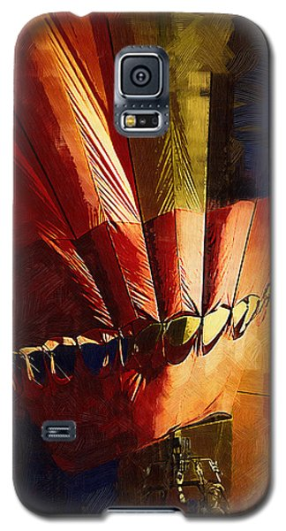 Hot Air Balloon Ready To Go Galaxy S5 Case by Kirt Tisdale