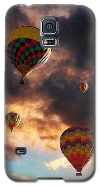 Hot Air Balloons - Chasing The Horizon Galaxy S5 Case