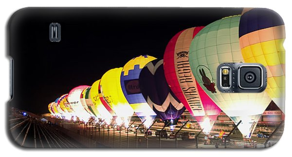 Galaxy S5 Case featuring the photograph Balloon Glow by John Swartz