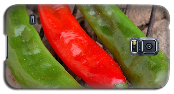 Hot And Spicy - Chiles On The Grill Galaxy S5 Case