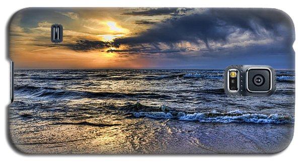 Hot April Sunset Saugatuck Michigan Galaxy S5 Case