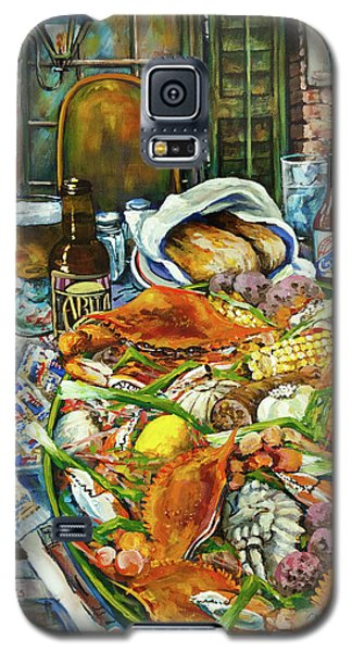 Hot Boiled Crabs Galaxy S5 Case by Dianne Parks