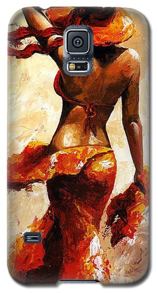 Hot Breeze  Galaxy S5 Case by Emerico Imre Toth