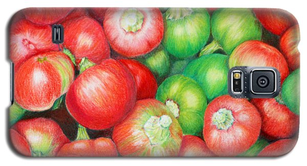 Hot Cherry Peppers Galaxy S5 Case by Mariarosa Rockefeller