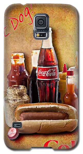 Hot Dog And Cold Coca-cola Galaxy S5 Case